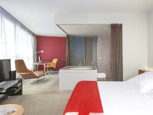 Hotel con Jacuzzi Diagonal Zero