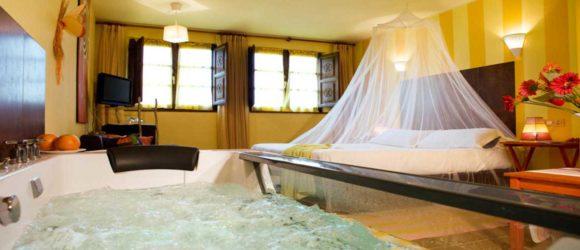 Hoteles con Jacuzzi en la habitación en Asturias